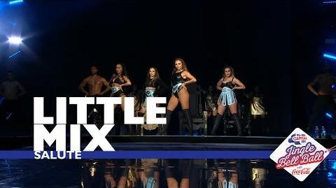 Little Mix - 'Salute' (Live At Capital's Jingle Bell Ball 2016)
