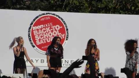 """Little Mix """"Change Your Life"""" - The Grove LA for Teen Vogue BTSS"""