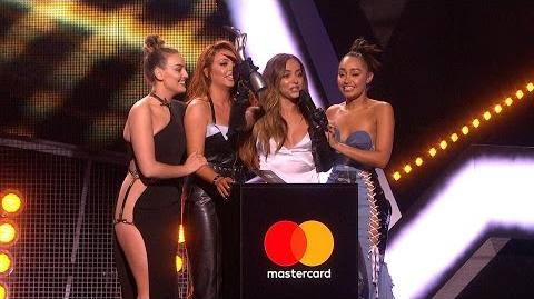 'Shout Out To My Ex' by Little Mix wins British Single The BRITs 2017
