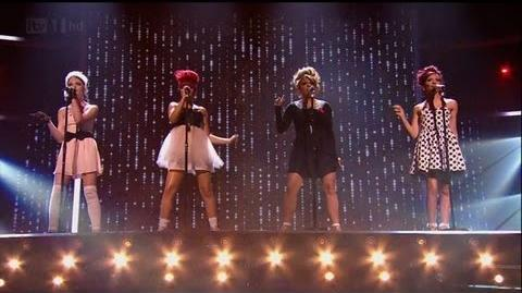 Little Mix keep us hanging on - The X Factor 2011 Live Semi-Final - itv