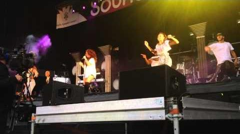 Little Mix - How Ya Doin' - Soundwaves Festival 2013 - Southshields - 25th August