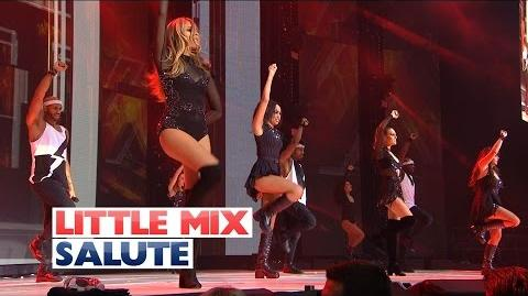 Little Mix - 'Salute' (Sunday Performance) (Live At The Jingle Bell Ball 2015)