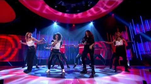 Little Mix perform the official Sport Relief single, Word Up, live Sport Relief 2014