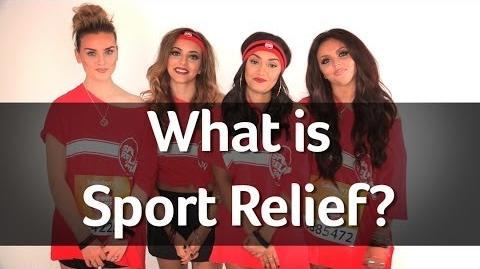 What's Sport Relief? Let Little Mix explain.