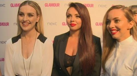 Little Mix interview Girls talk US tour and new music at Glamour Awards 2014