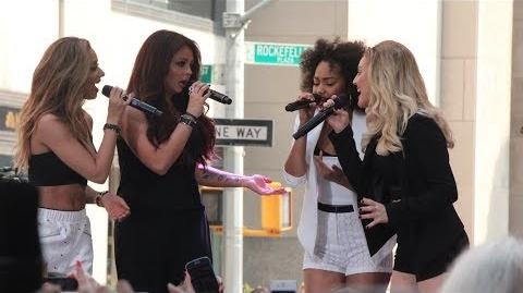 "Little Mix Perform ""Wings"" LIVE At Rockefeller Plaza"