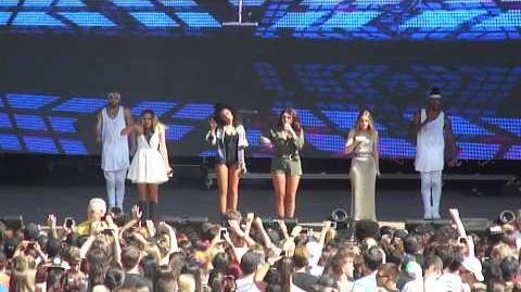 Black Magic - Little Mix @ Billboard Hot 100 Music Festival - August 22, 2015