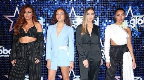 Little Mix - The Global Awards 2018 (Interview)