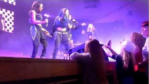 Little Mix (HD) - No Scrubs Bootylicious (Live, DNA Tour 2013, Royal Concert Hall, Nottingham)