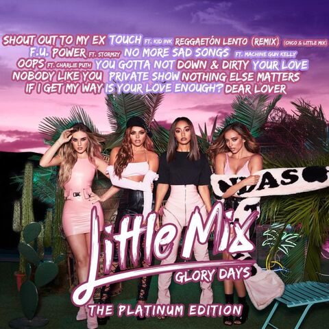 The tracklist for the Platinum Edition