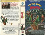 Little Shop of Horrors (1986) VHS USA 1987 - VHS Collector Scan