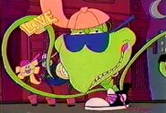 Little Shop of Horrors Cartoon - Junior sings It's Time to Get Real
