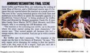 Little Shop of Horrors Reshoot - NY Magazine 1986-09-22
