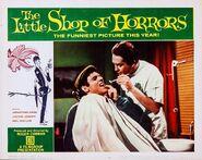 The Little Shop of Horrors Lobby Card 06 - Jonathan Haze & John Herman Shaner