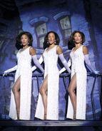 Little Shop of Horrors - 2004 Touring Company Amina S. Robinson Latonya Holmes Yasmeen Sulieman 01