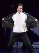 Little Shop of Horrors - 2004 Touring Company James Moye as Orin Scrivello DDS