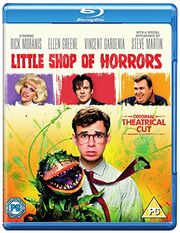 Little Shop of Horrors (1986) UK Original Theatrical Cut Blu Ray Cover