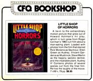 Little Shop of Horrors - Cinefantastique Bookshop