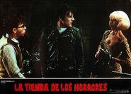 Little Shop of Horrors Spanish Lobby Card 03 Rick Moranis, Steve Martin, Ellen Greene