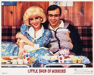 Little Shop of Horrors Lobby Card 02 Ellen Greene, Rick Moranis