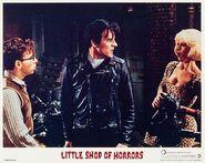 Little Shop of Horrors Lobby Card 03 Rick Moranis, Steve Martin, Ellen Greene