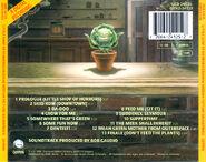 Little Shop of Horrors 1986 CD Soundtrack 02 - Back Cover