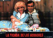 Little Shop of Horrors Spanish Lobby Card 12 Ellen Greene, Rick Moranis