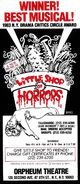 Little Shop of Horrors 1984 Off-Broadway Flyer 03