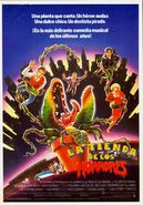 Little Shop of Horrors 1986 Poster Spain