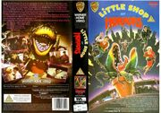 Little Shop of Horrors (1986) VHS UK 1987