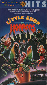 Little Shop of Horrors (1986) VHS USA 1994 WB Hits 1