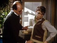 Little Shop of Horrors (1986) Frank Oz necking Rick Moranis