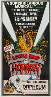 Little Shop of Horrors Orpheum Theatre Poster