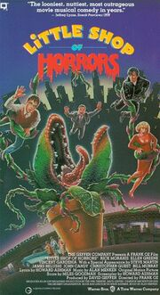 Little Shop of Horrors (1986) VHS USA 1987