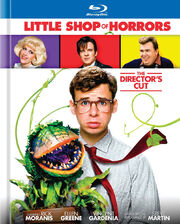 Little Shop of Horrors (1986) 2012 Blu Ray book 1 - Front Cover