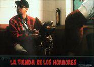 Little Shop of Horrors Spanish Lobby Card 11 Rick Moranis