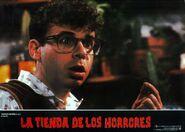 Little Shop of Horrors Spanish Lobby Card 04 Rick Moranis