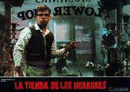 Little Shop of Horrors Spanish Lobby Card 01 Rick Moranis