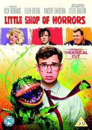 Little Shop of Horrors (1986) UK Original Theatrical Cut Cover