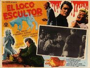 A Bucket of Blood Mexican Lobby Card 2
