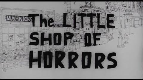 The Little Shop of Horrors Original Widescreen Presentation Full Film