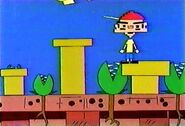 Little Shop of Horrors Cartoon - Seymour Krelborn in Super Mario Bros sequence