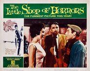 The Little Shop of Horrors Lobby Card 08 - Jonathan Haze, Mel Welles, Jackie Joseph
