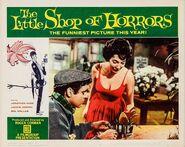 The Little Shop of Horrors Lobby Card 07 - Jonathan Haze & Jackie Joseph