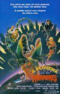 Little Shop of Horrors (1986) Brazilian Poster