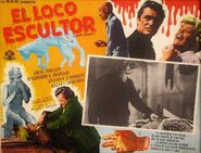 A Bucket of Blood Mexican Lobby Card 1