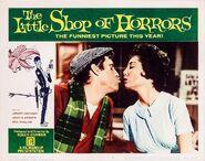 The Little Shop of Horrors Lobby Card 03 - Jonathan Haze & Jackie Joseph