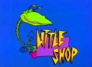 Little Shop Title Card