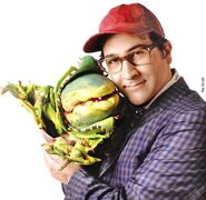 Little Shop of Horrors - Joey Fatone as Seymour with Audrey II