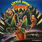 Little Shop of Horrors (1986) Laseridisc USA 1992 A